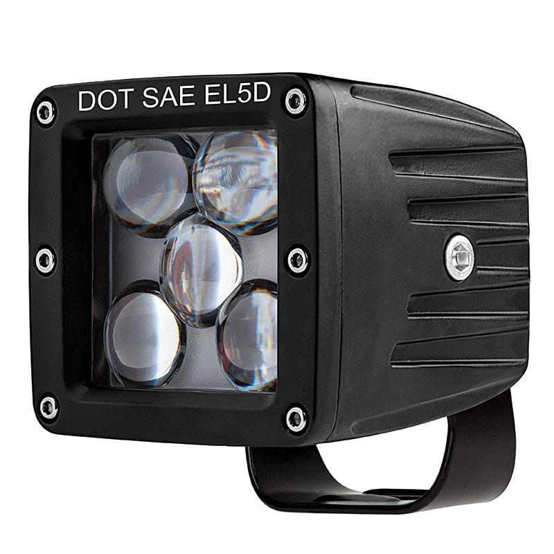 Led Driving Light - 3 U0026quot  Square