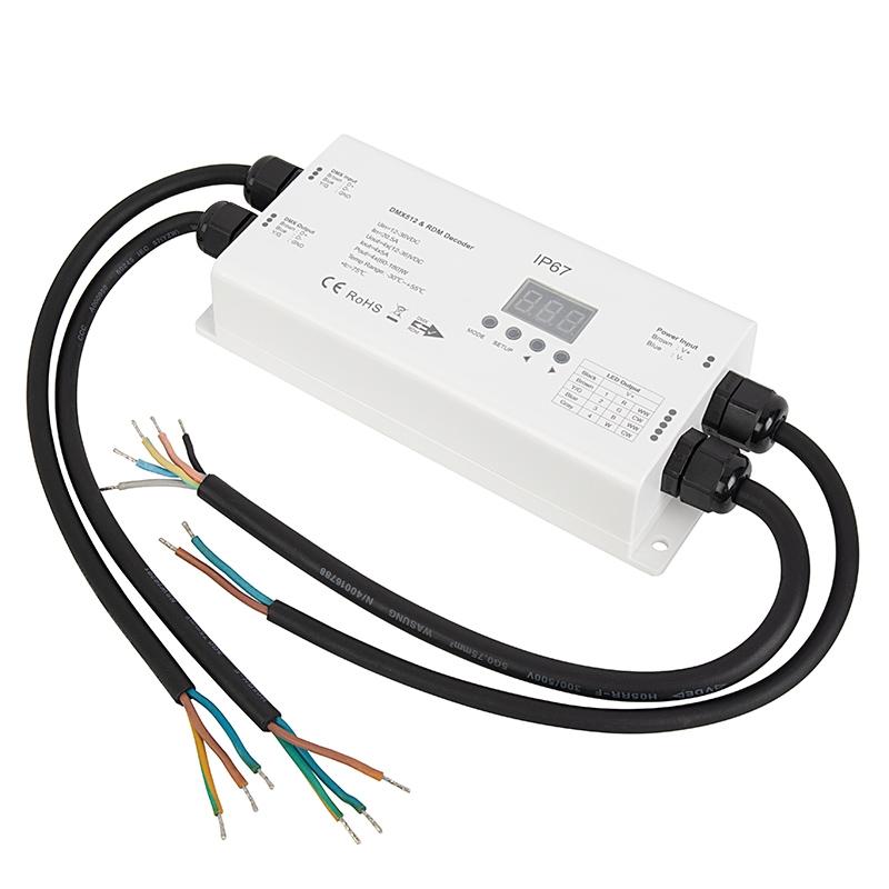 8 Channel DMX512 Decoder LED Stage Light Control Board DC5-24V output BSG
