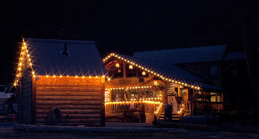 C7 White Christmas Lights