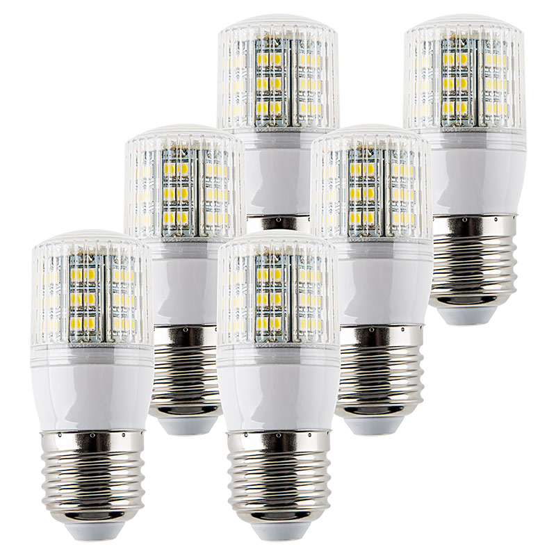 E27 Led Bulb Compact And Low Profile 6 Pack 6w Led Tube Lights Led Panel Lights Led Home