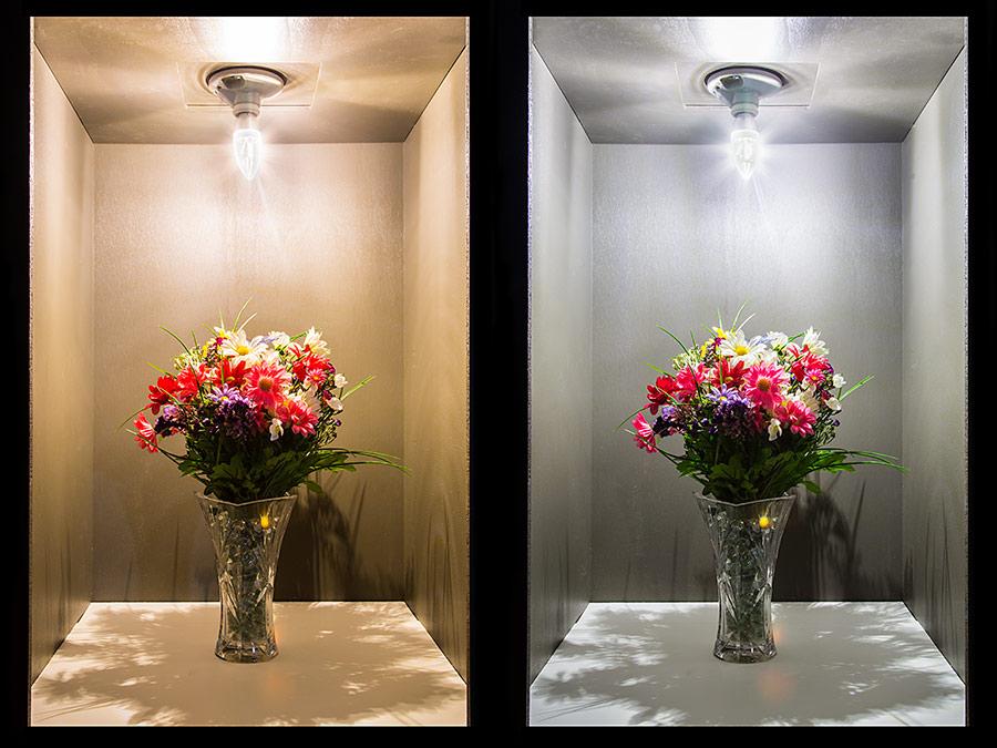 E27 LED Decorative Light Bulb - 40 Watt Equivalent LED Chandelier Bulb w/ Blunt Tip : CA10 ...