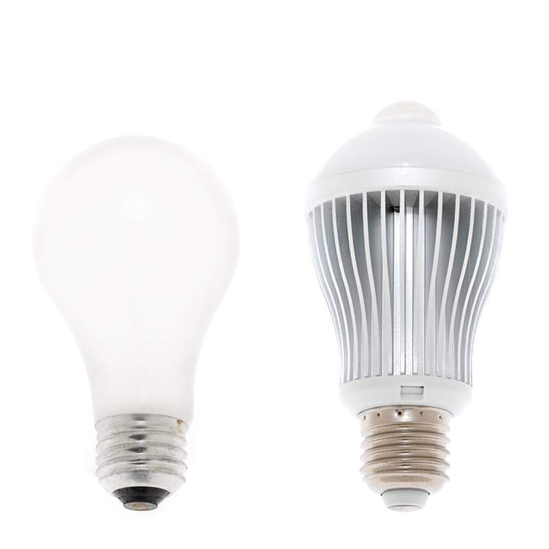 6 watt led a19 globe bulb with motion sensor a19 led. Black Bedroom Furniture Sets. Home Design Ideas