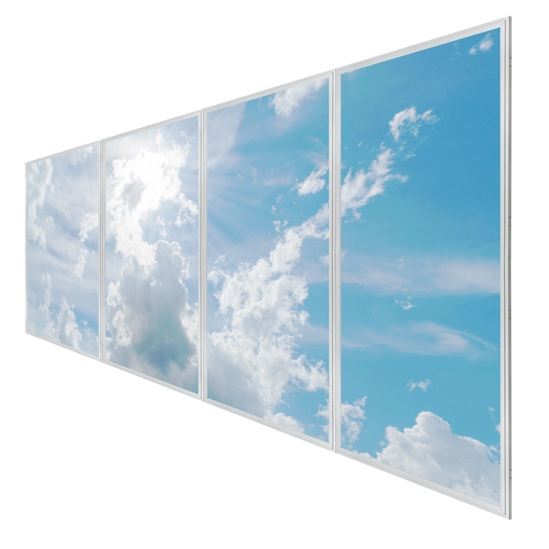Multi Led Panel Light Display W Skylenses 174 Even Glow