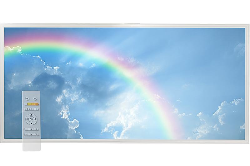 Tunable White Led Skylight W Rainbow Skylens 174 Diffuser
