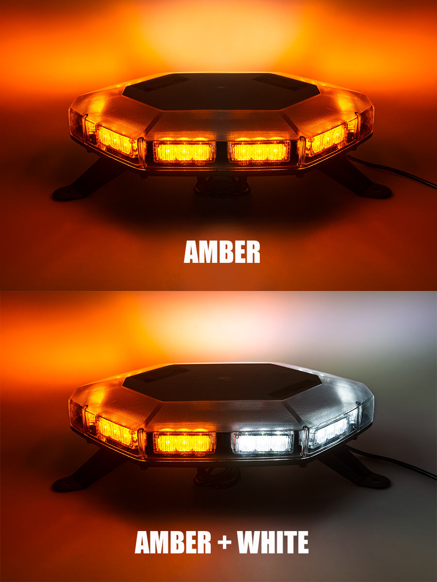 emergency led light bar 360 degree strobing led mini. Black Bedroom Furniture Sets. Home Design Ideas