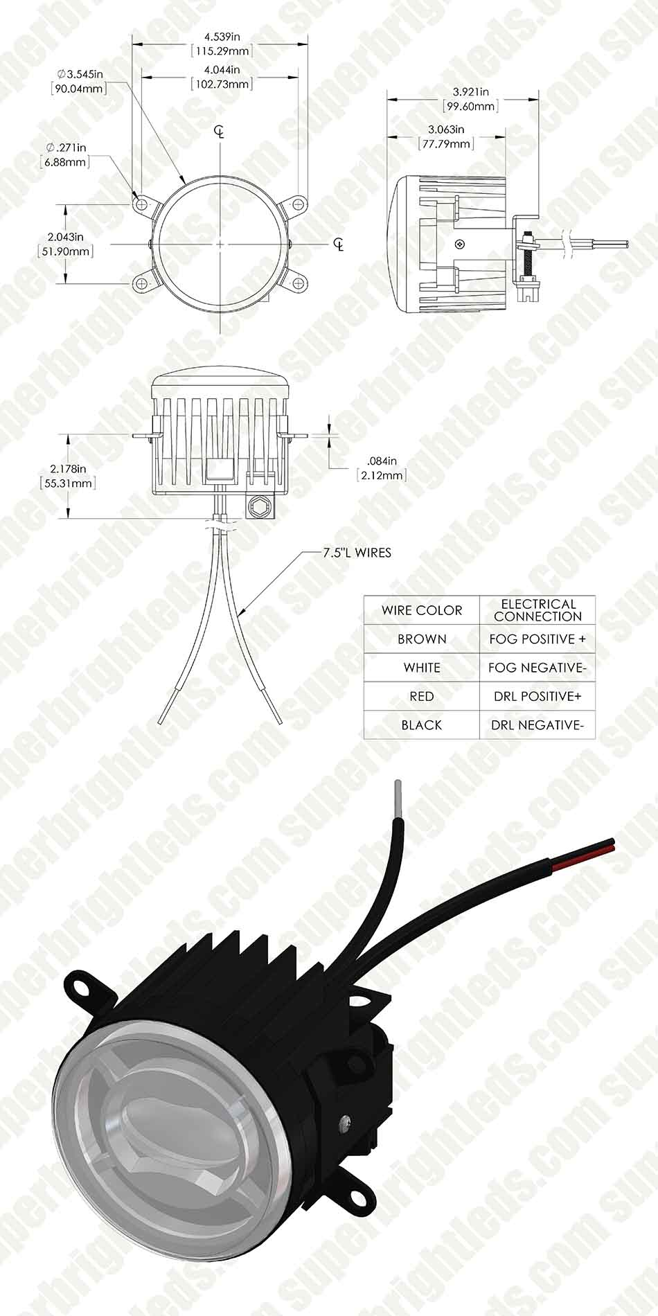 Halo Fog Lights Wiring Diagram | Wiring Diagram Fog L Wiring Diagram on