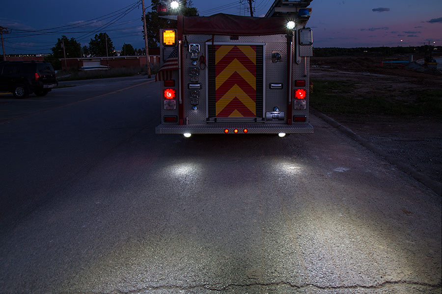Truck Flood Lights : Off road led work light quot round adjustable spot w
