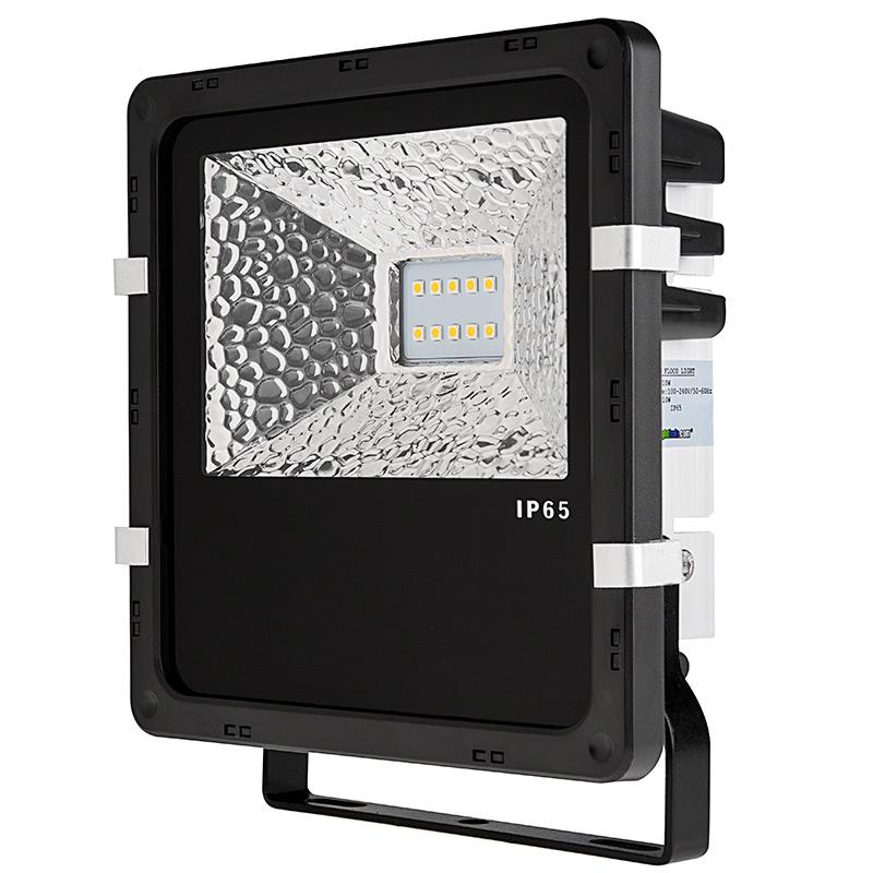 10 watt high power led flood light fixture 800 lumens super bright leds. Black Bedroom Furniture Sets. Home Design Ideas