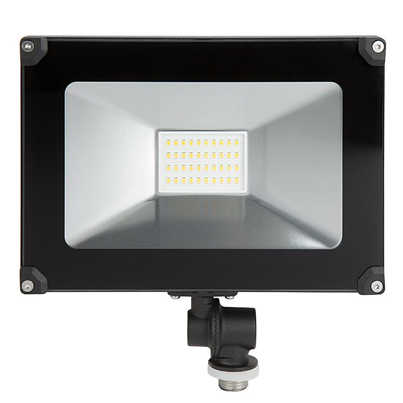 30 watt knuckle mount led flood light 4000k 100 watt mh equivalent 3 600 lumens super. Black Bedroom Furniture Sets. Home Design Ideas