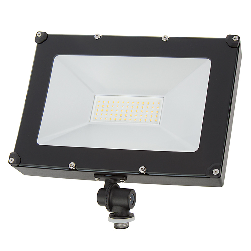 50 watt knuckle mount led flood light 4000k 100 watt mh equivalent 6 000 lumens super. Black Bedroom Furniture Sets. Home Design Ideas