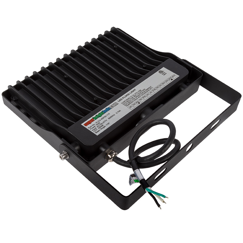 Led Light Fixture Wattage: 50 Watt LED Flood Light Fixture
