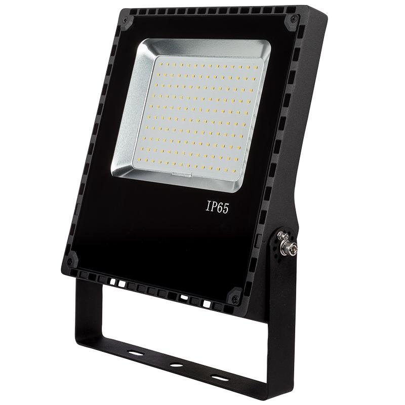 80 watt led flood light fixture 5000k 4000k 175 watt mh equivalent 9 600 lumens super. Black Bedroom Furniture Sets. Home Design Ideas