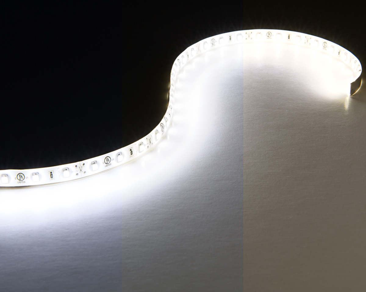 Outdoor led strip lights custom length 12v led tape light custom length led waterproof flexible light strip available in cool natural and warm white aloadofball Gallery
