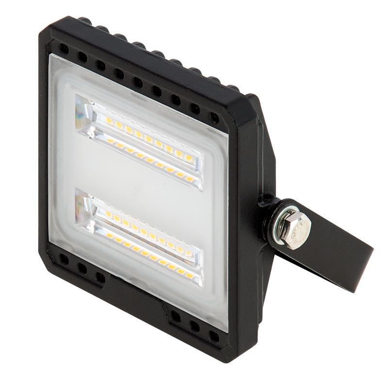 10 watt led flood light fixture low profile 4000k 75 watt equivalent 950 lumens super. Black Bedroom Furniture Sets. Home Design Ideas