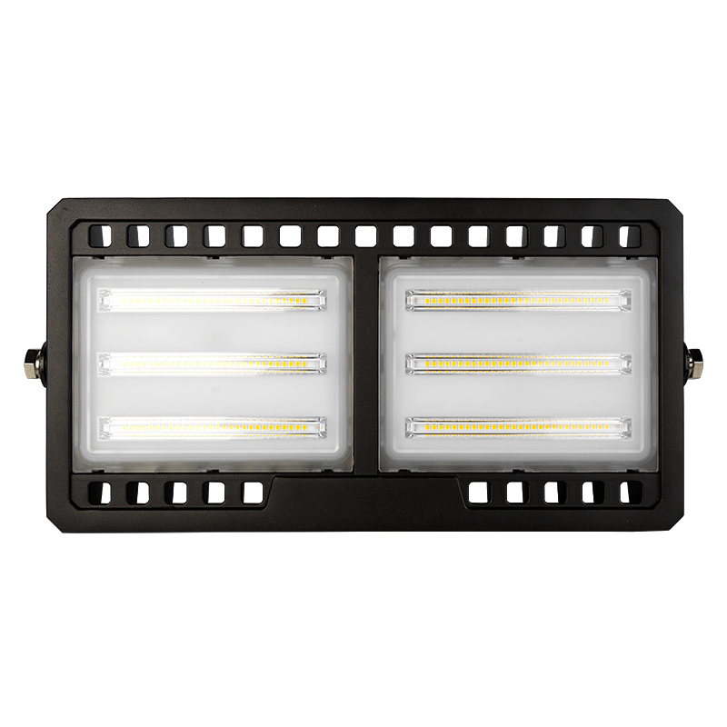 100 watt led flood light fixture low profile 4000k. Black Bedroom Furniture Sets. Home Design Ideas