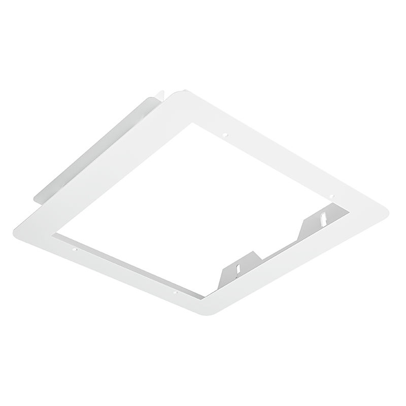 Led Canopy Lights: Flush Mount Frame For 150W LED Canopy Lights