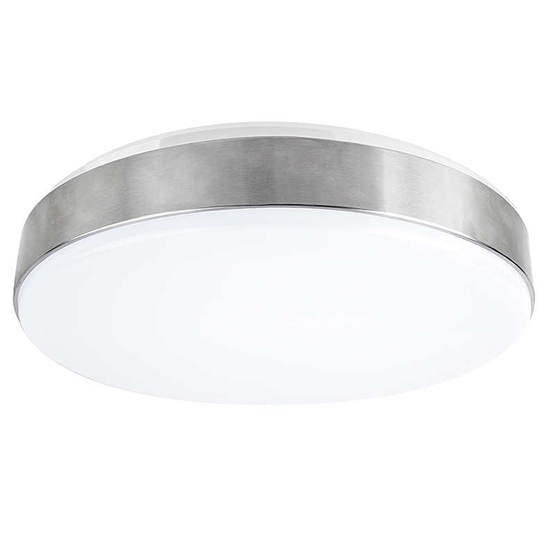 flush mount led ceiling lights lowes for bathroom light brushed aluminum housing australia