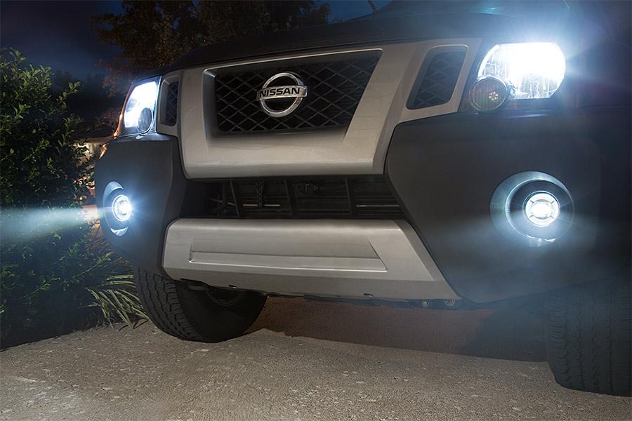 H7 LED Fanless Headlight/Fog Light Conversion Kit with Compact Heat Sink -  4,000 Lumens/Set