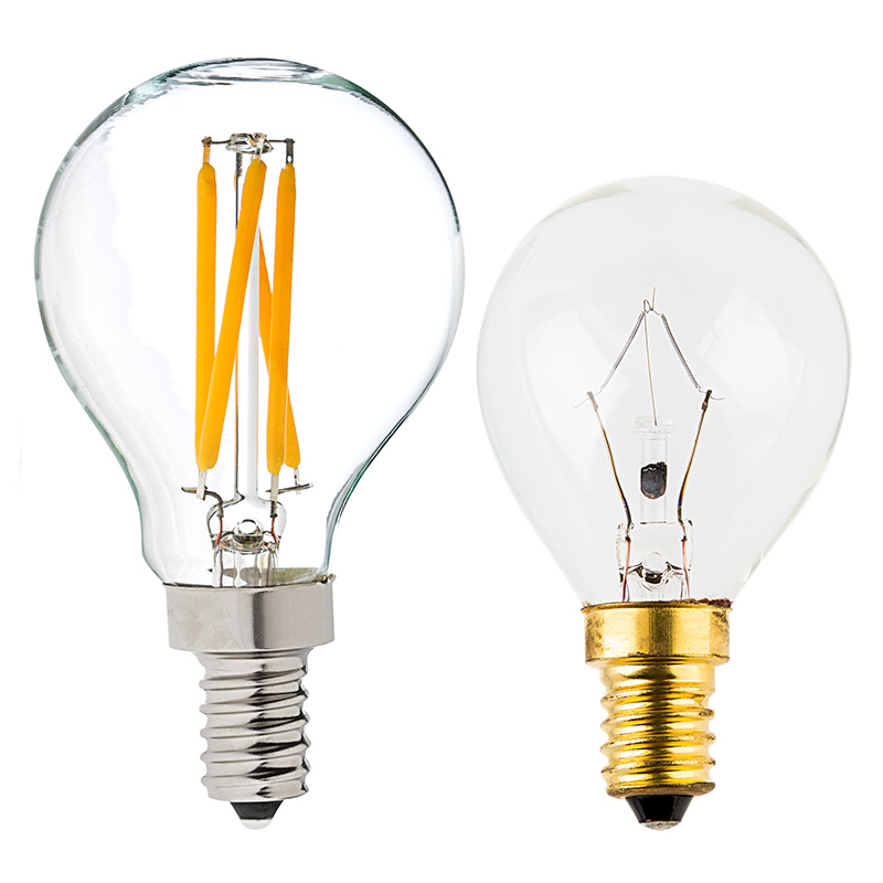 G14 led filament bulb 40 watt equivalent led candelabra bulb dimmable 370 lumens Bulbs led