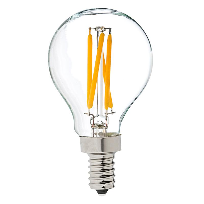G14 Led Filament Bulb 40 Watt Equivalent Led Candelabra Bulb Dimmable 370 Lumens Led