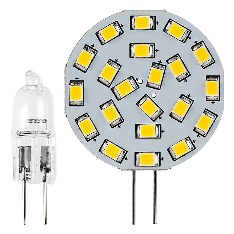g4 led bulb 21 led bi pin led disc 350 lumens led. Black Bedroom Furniture Sets. Home Design Ideas