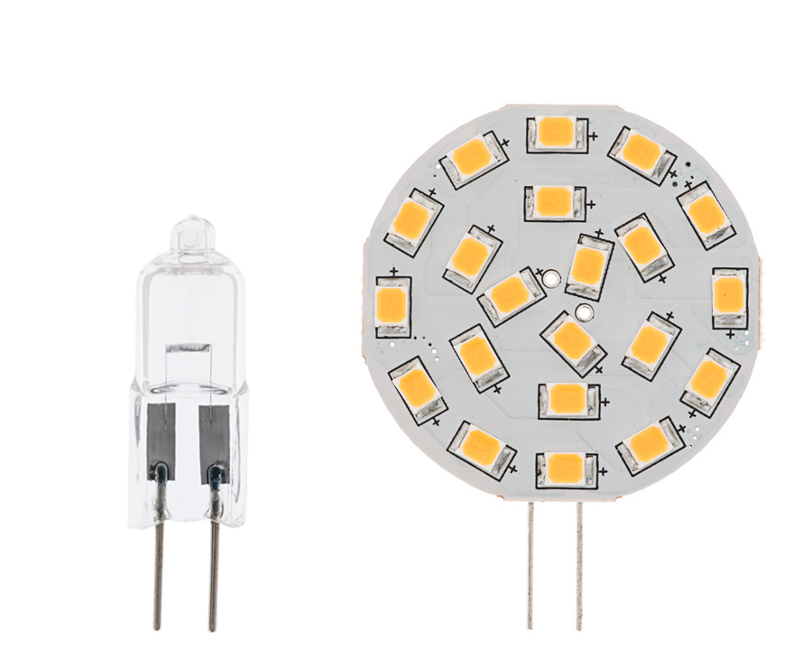 g4 led bulb 3 watt 35 watt equivalent bi pin led disc white bi pin led bulbs led home. Black Bedroom Furniture Sets. Home Design Ideas