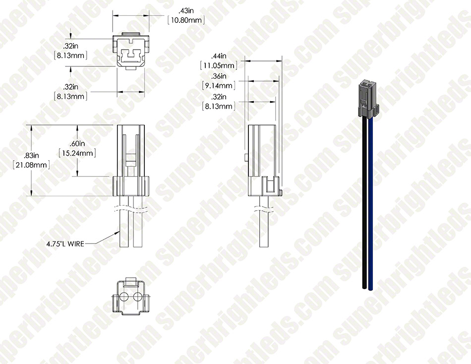 G4 Socket - Wired Bi-Pin