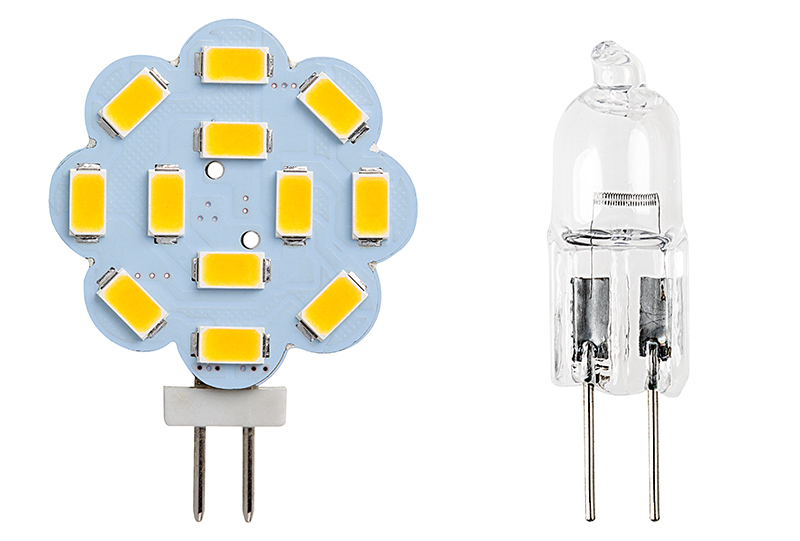 G4 Led Bulb >> G4 Led Landscape Light Bulb 40 Watt Equivalent Bi Pin Led Disc