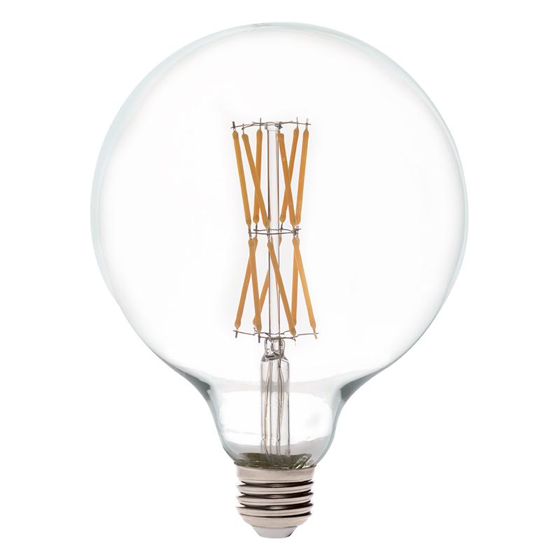 G40 led filament bulb 60 watt equivalent led vintage for Lampen 40 watt