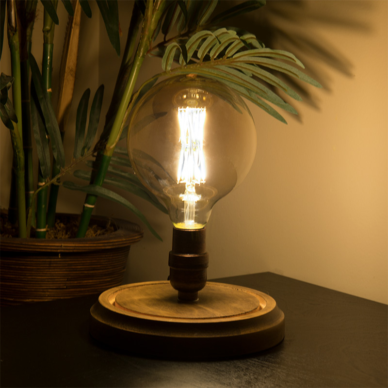G40 Led Filament Bulb Gold Tint Vintage Light Bulb 60 Watt Equivalent Dimmable 650