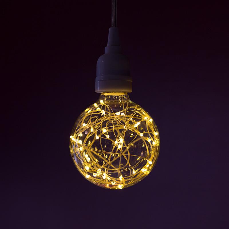 G30g95 Led Fairy Light Bulbs 10 Watt Equivalent 65 Lumens