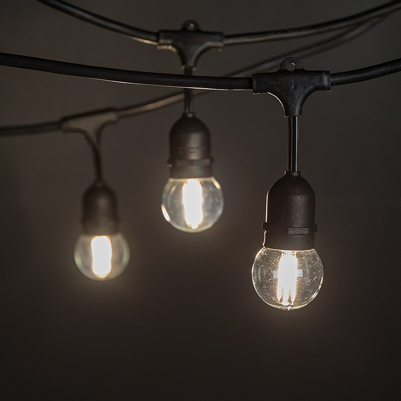 Commercial Grade Outdoor Led String Lights W Pendant