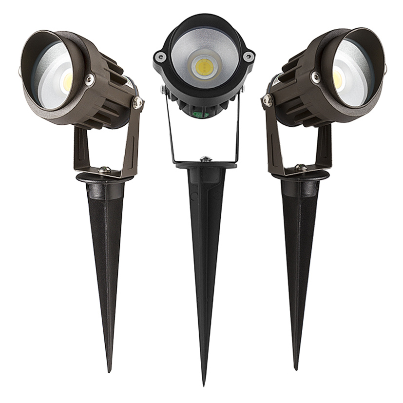 5 watt landscape led spotlight w mounting spike 250 lumens led landscape spot lights led. Black Bedroom Furniture Sets. Home Design Ideas