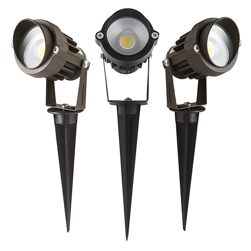 5 Watt Landscape LED Spotlight W/ Mounting Spike