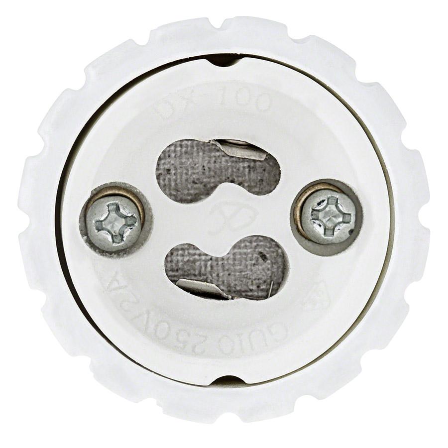 Gu10 Base: GU10 Base To E27 Base Socket Adapter