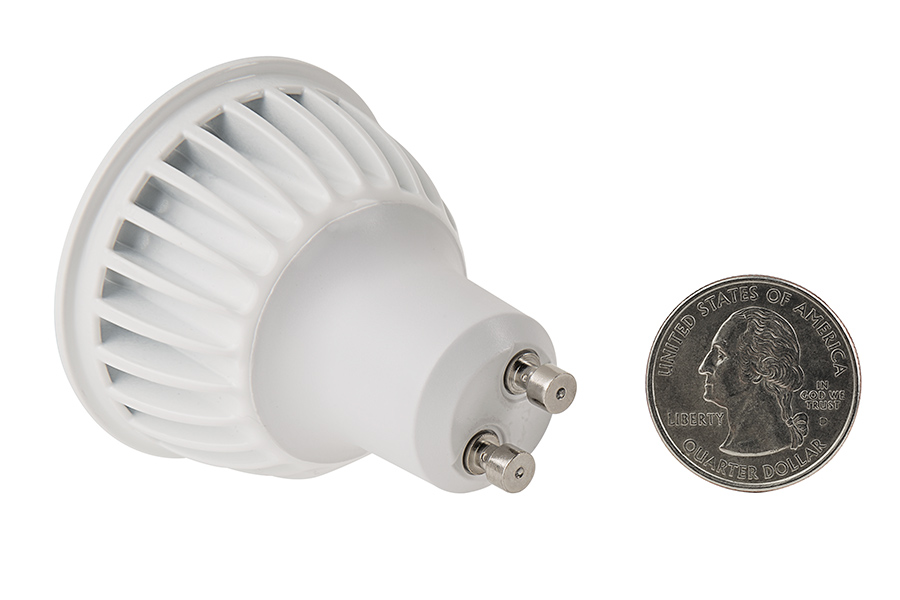 Gu led bulb w led spotlight w halogen