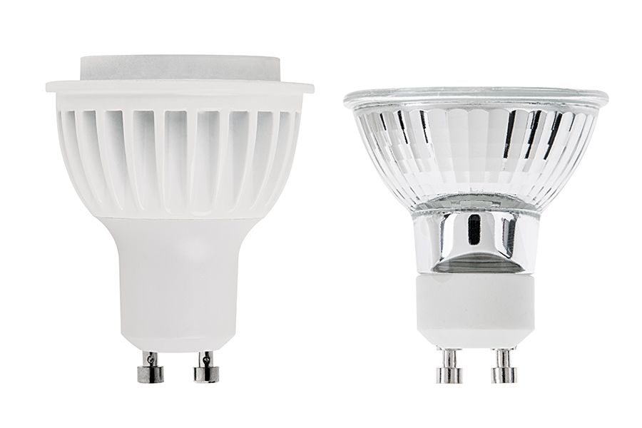 Gu10 Led Bulb 40w Equivalent Dimmable Bi Pin Bulb 550 Lumens Led Flood Light Bulbs And