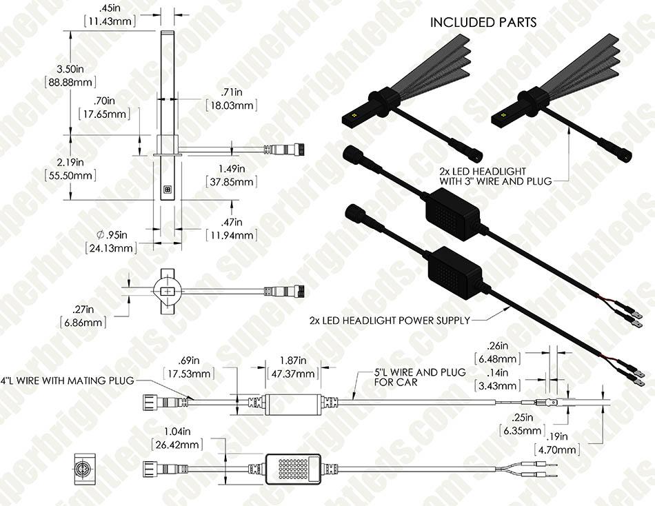 Led Headlight Kit
