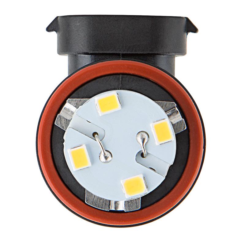 H11 LED RV Light Bulb - LED Fog Light/Daytime Running Light Bulb - 28 SMD  LED Tower