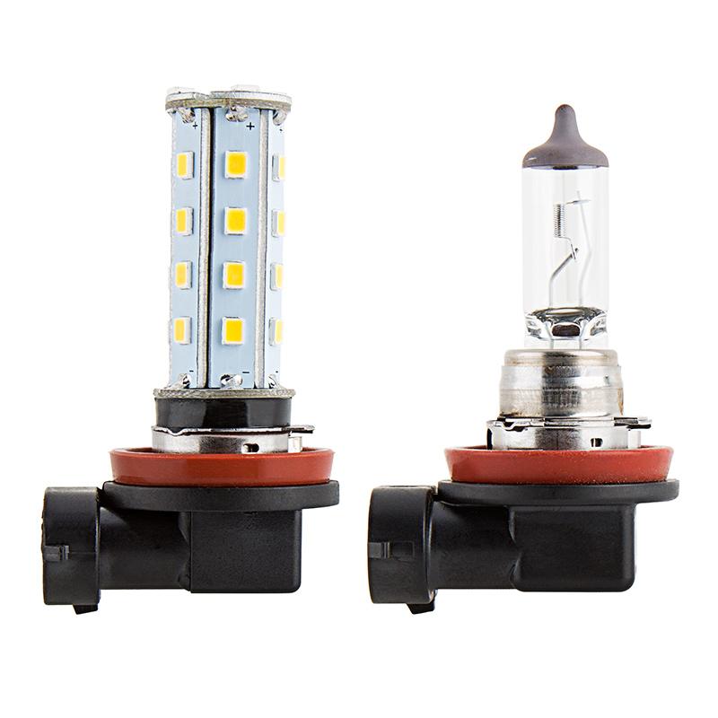 H8 LED RV Light Bulb - LED Fog Light/Daytime Running Light Bulb - 28 SMD  LED Tower