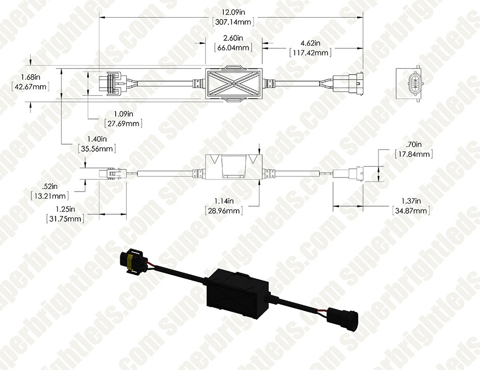 Led H4 Headlight Plug Wiring Diagram 1993 Dakota Headlight