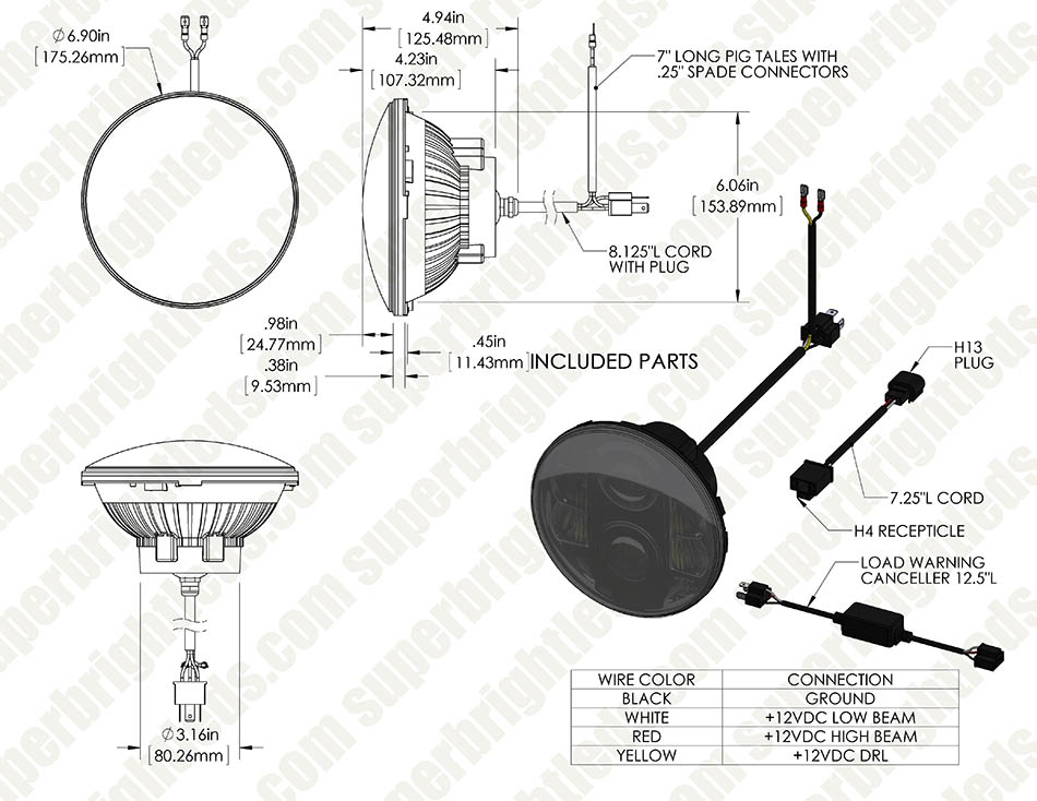 h6024 headlight wiring diagram wiring diagram Basic Headlight Wiring h6024 60x main assembly for site0123