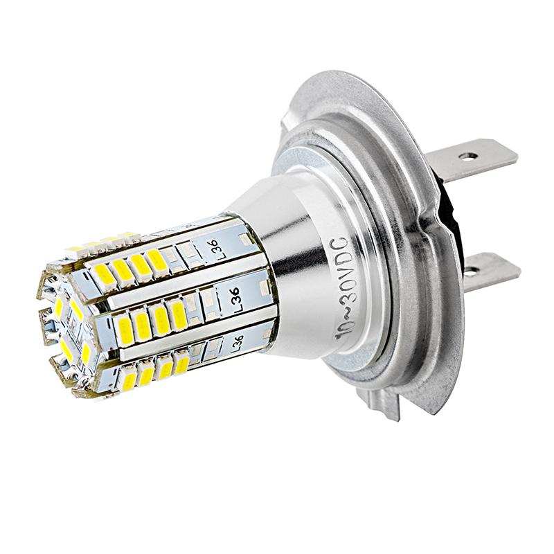 H7 LED Fog Light/Daytime Running Light Bulb - 36 SMD LED Tower | LED ...