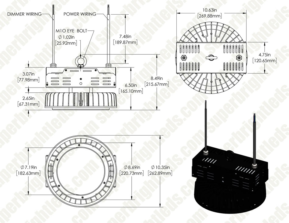100W UFO LED High Bay Light w/ Reflector - 14,000 Lu - 200-480 ...  W Mh Wiring Diagram on transformer diagrams, battery diagrams, electronic circuit diagrams, engine diagrams, motor diagrams, internet of things diagrams, electrical diagrams, led circuit diagrams, lighting diagrams, friendship bracelet diagrams, switch diagrams, pinout diagrams, gmc fuse box diagrams, honda motorcycle repair diagrams, sincgars radio configurations diagrams, hvac diagrams, troubleshooting diagrams, smart car diagrams, snatch block diagrams, series and parallel circuits diagrams,