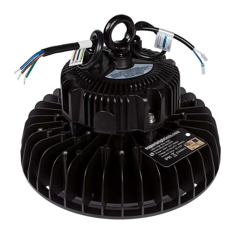 Led High Bay Prismatic Reflector: 150W UFO LED High Bay Light W/ Reflector