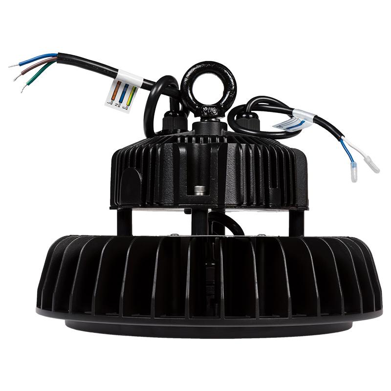 Led High Bay Prismatic Reflector: 150W UFO LED High Bay Light W/ Optional Reflector