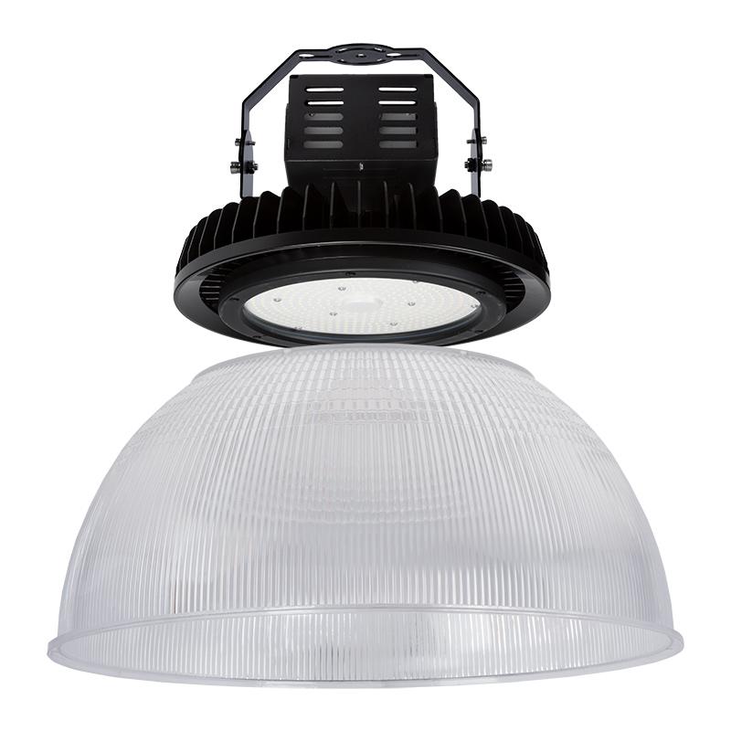 Led High Bay Prismatic Reflector: 300W UFO LED High Bay Light W/ Optional Reflector