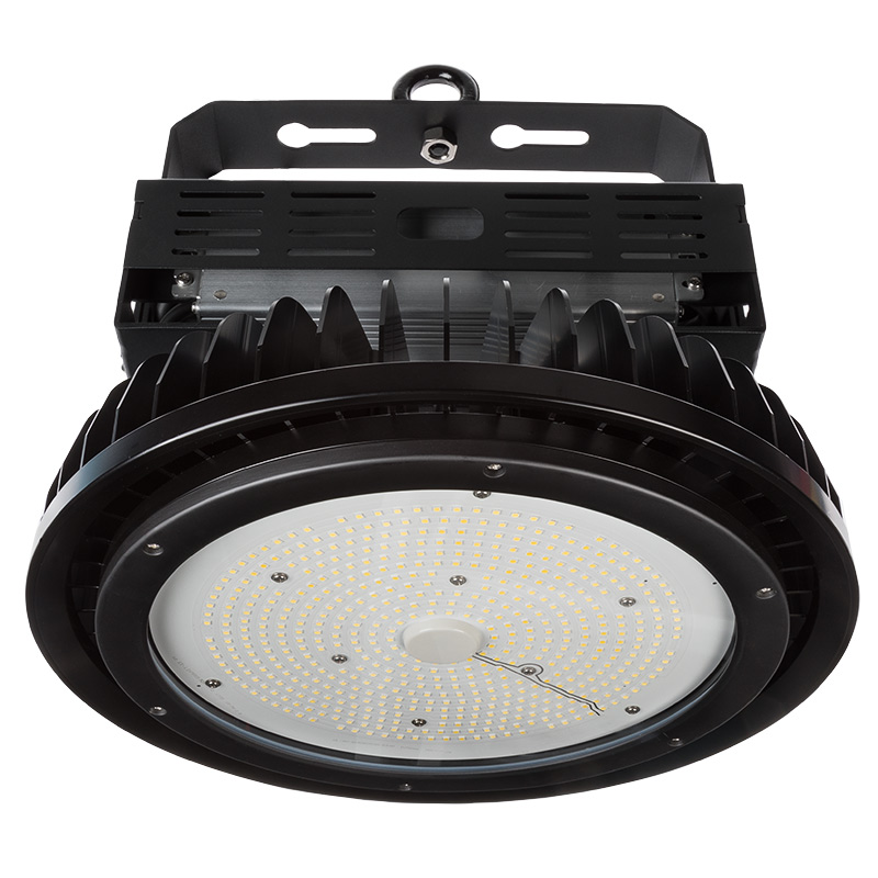 Led High Bay Prismatic Reflector: 500W UFO LED High Bay Light W/ Reflector