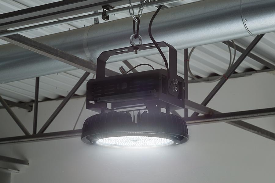 HBUD-50K500W-x - 500 Watt UFO LED High Bay Light w/ Optional Reflector - 5000K - 60000 Lumens & 500 Watt UFO LED High Bay Light w/ Optional Reflector - 5000K ... azcodes.com