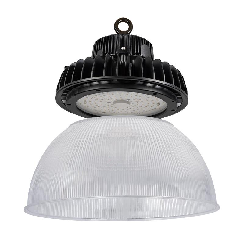 Led High Bay Prismatic Reflector: 100W UFO LED High Bay Light W/ Optional Reflector
